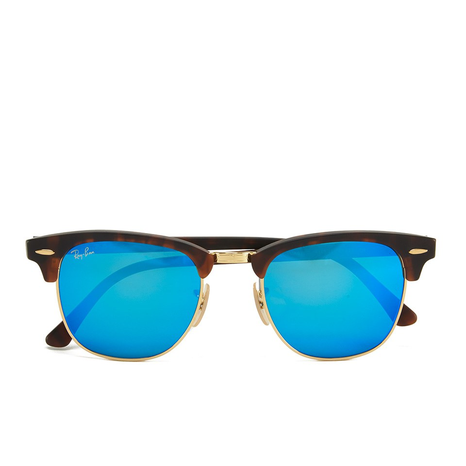 ray-ban-clubmaster-sunglasses-sand-havanagold-51mm