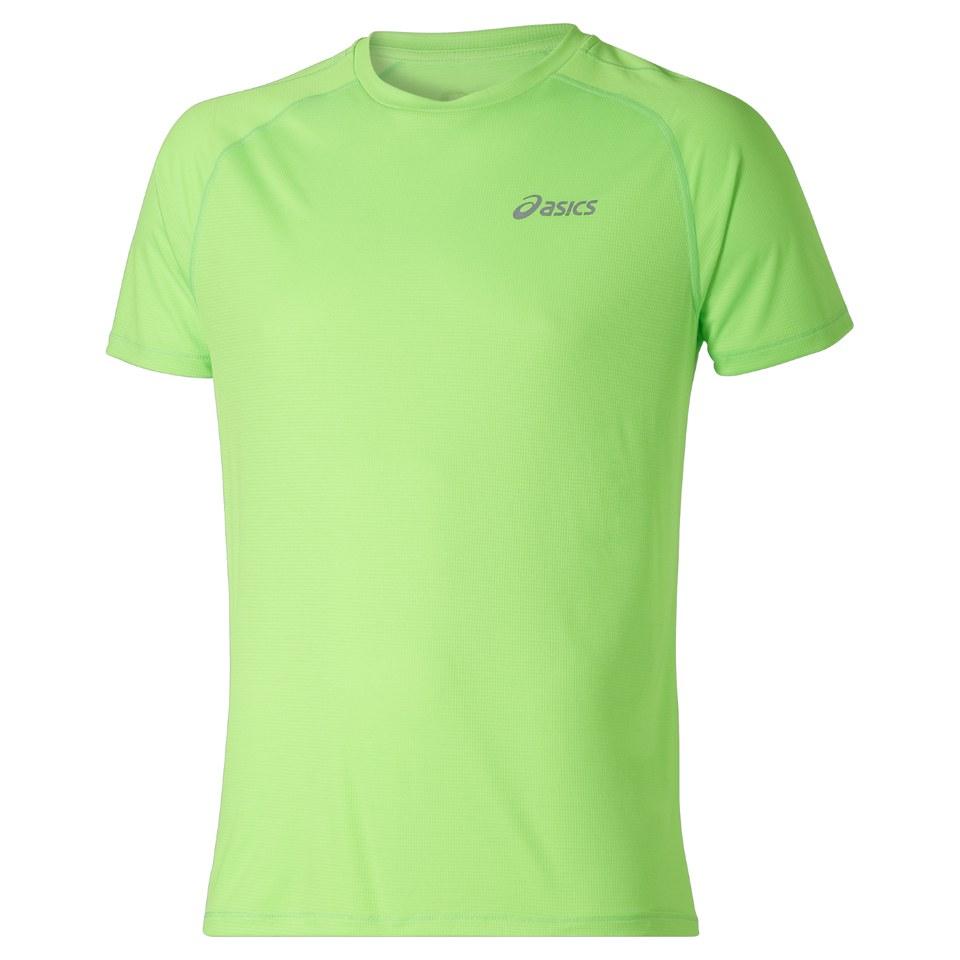 asics-men-shorts-sleeve-running-t-shirt-green-gecko-l