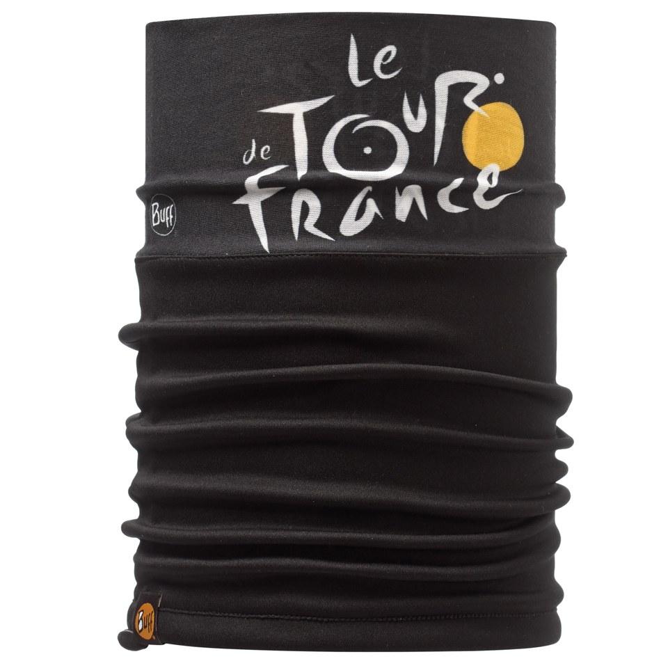 buff-le-tour-de-france-windproof-neckwarmer-tour-black