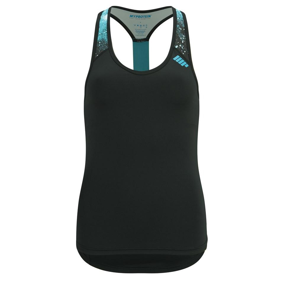 Foto Myprotein Women's Racer Back Scoop Vest with Support - Teal - UK 6