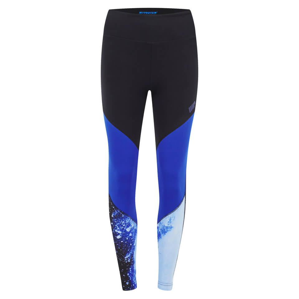 Myprotein Women's Colour Block Leggings - Blu