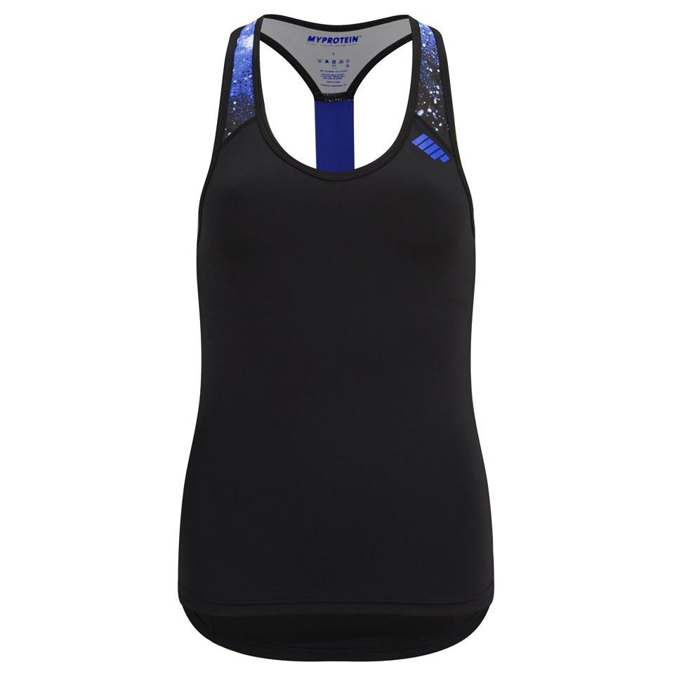 Foto Myprotein Women's Racer Back Scoop Vest with Support - Blue - UK 10
