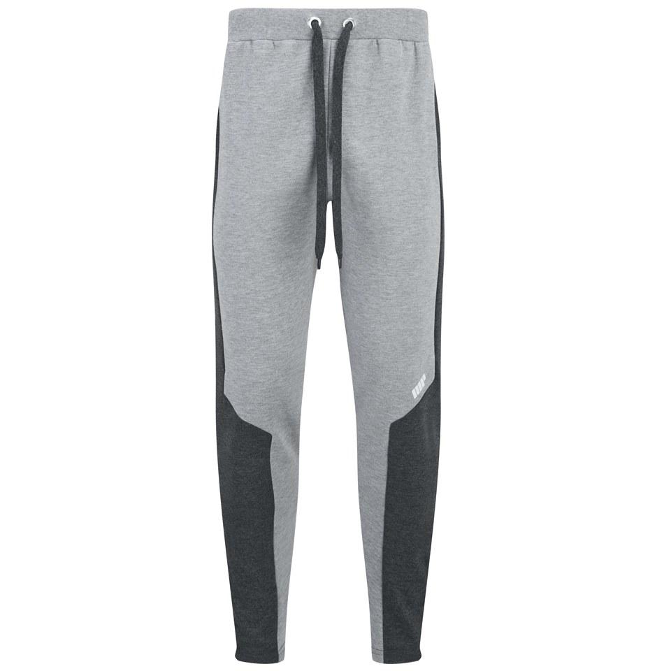 Foto Myprotein Men's Panelled Slimfit Sweatpants with Zip - Grey Marl - M