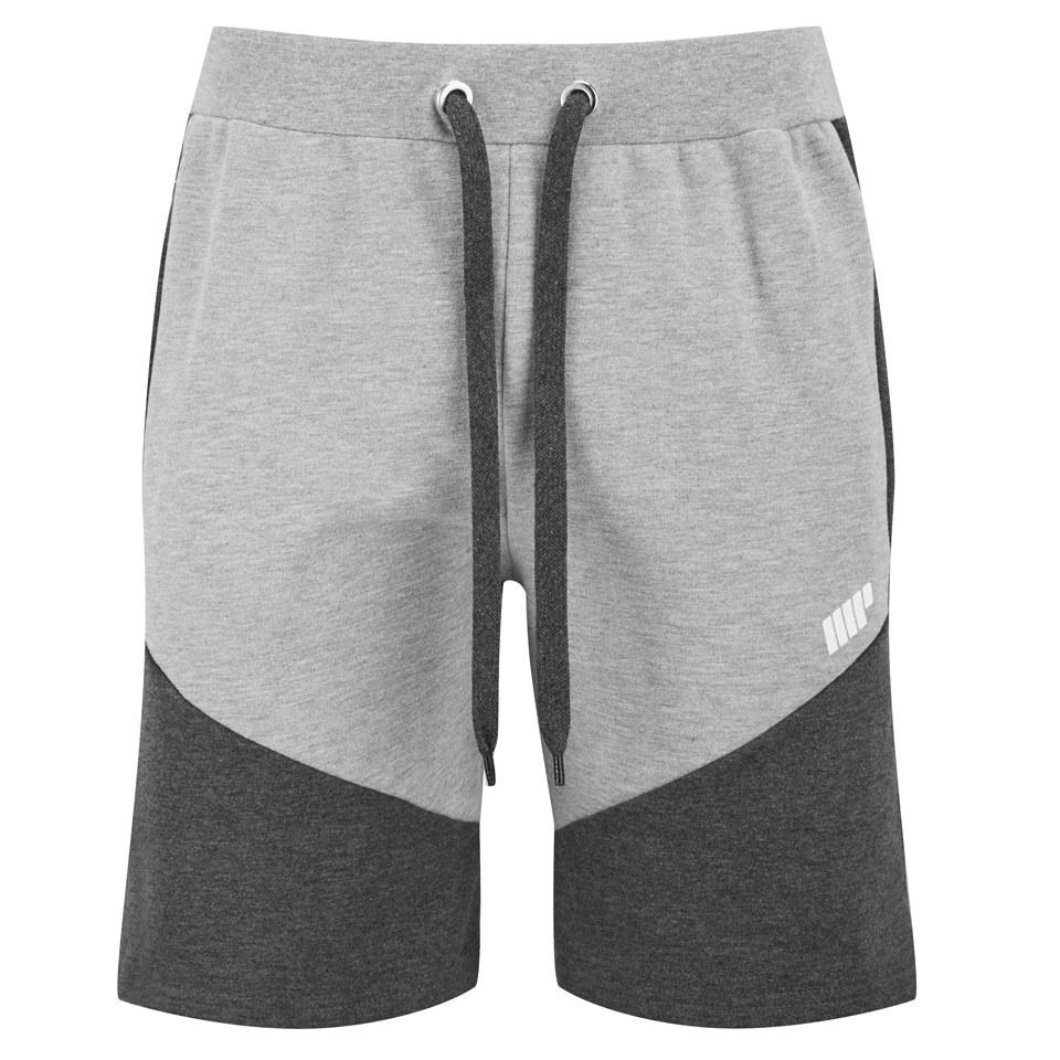 Myprotein Men's Panelled Sweatshorts - Grey M
