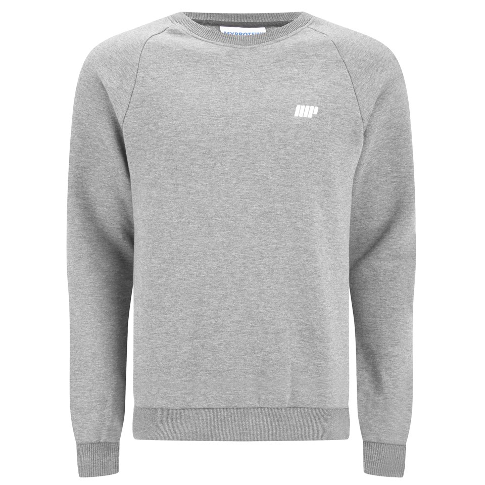 Foto Myprotein Men's Crew Neck Sweatshirt - Grey Marl - S