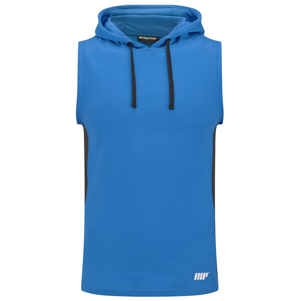 Foto Myprotein, Men's Hooded Singlet, Blue - XXL