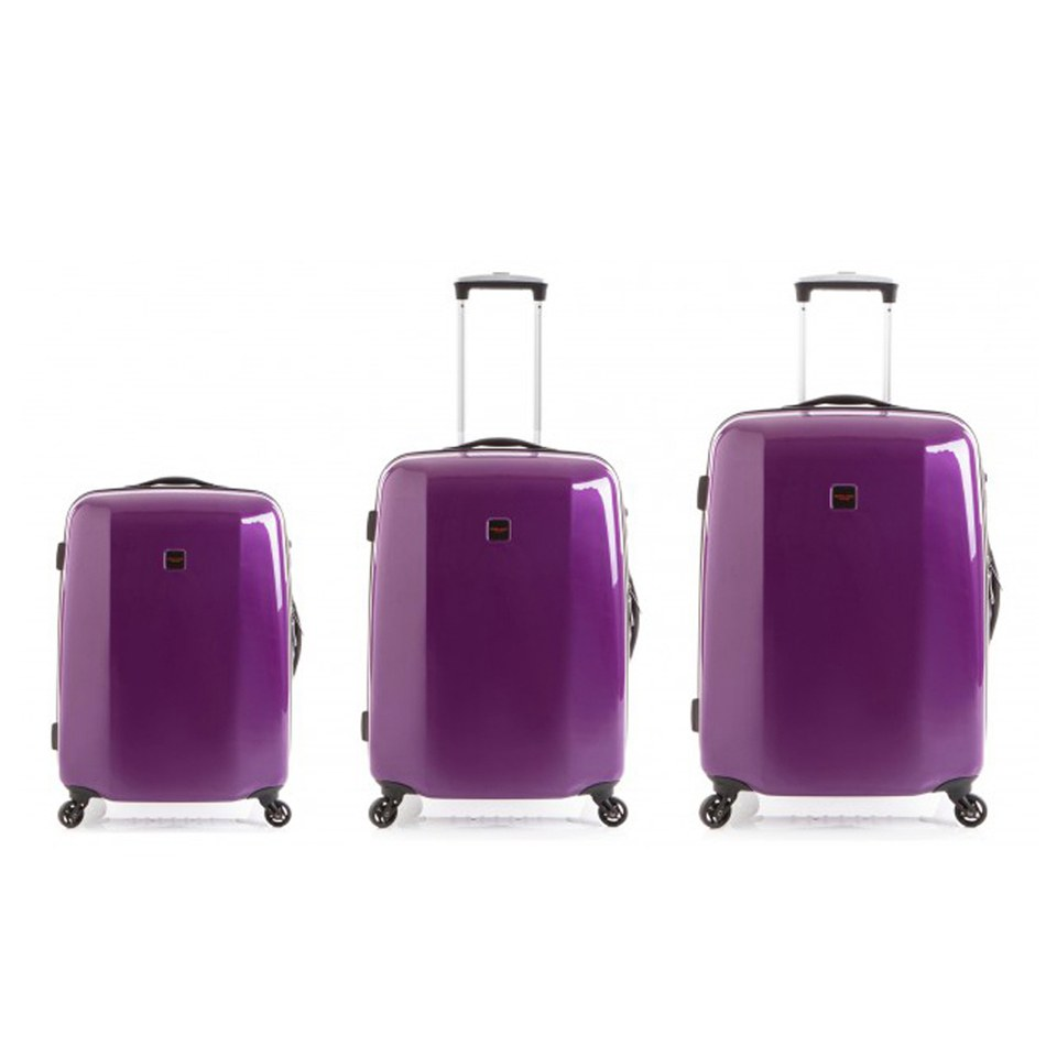redland-60two-collection-hardsided-trolley-suitcase-set-purple-756555cm-3-piece