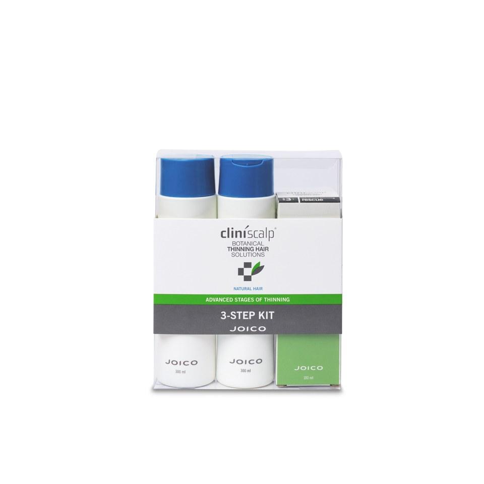 JOICO Cliniscalp 3-Step Kit Natural Hair