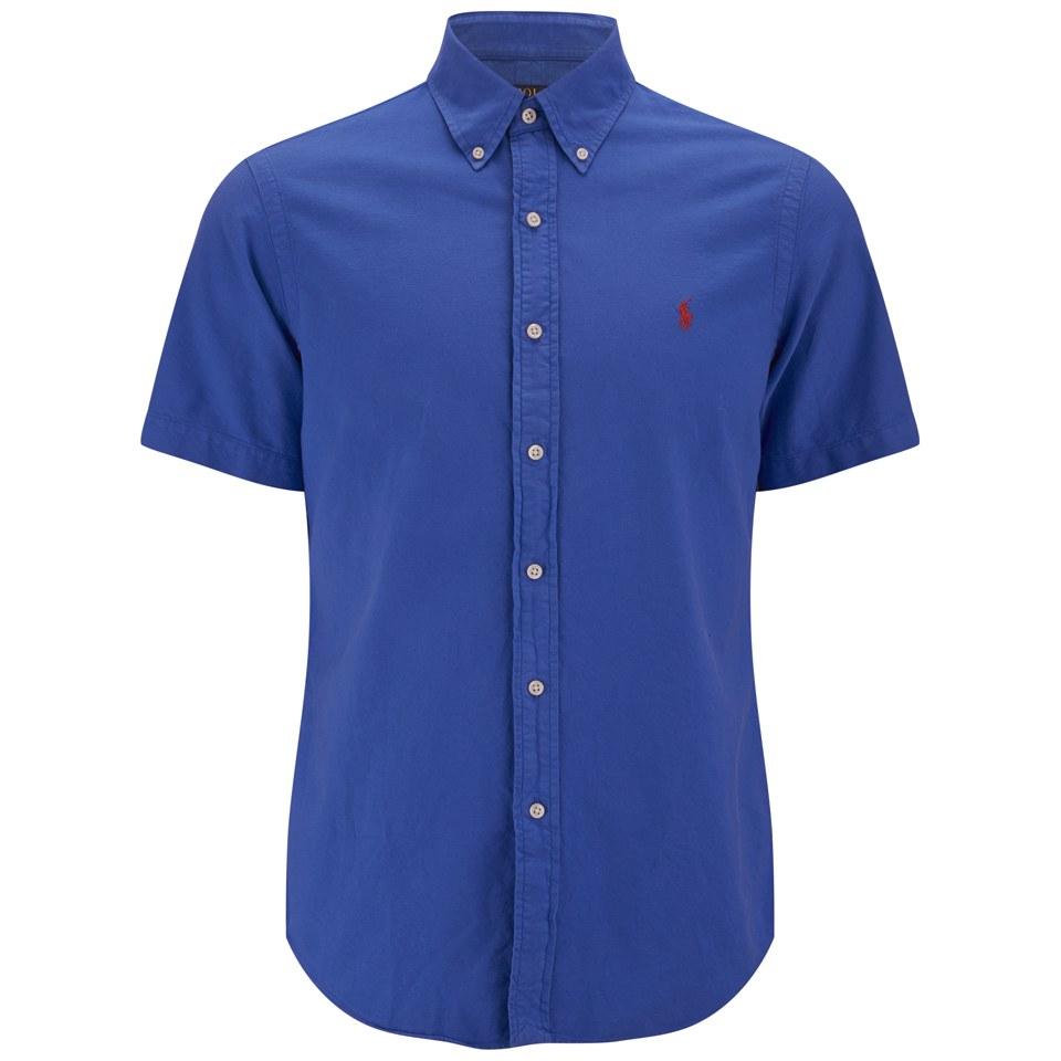 Polo Ralph Lauren Men 39 S Short Sleeve Oxford Shirt