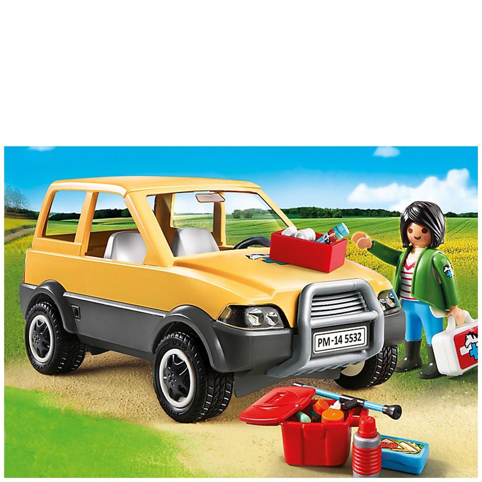 playmobil-vet-clinic-vet-with-car-5532