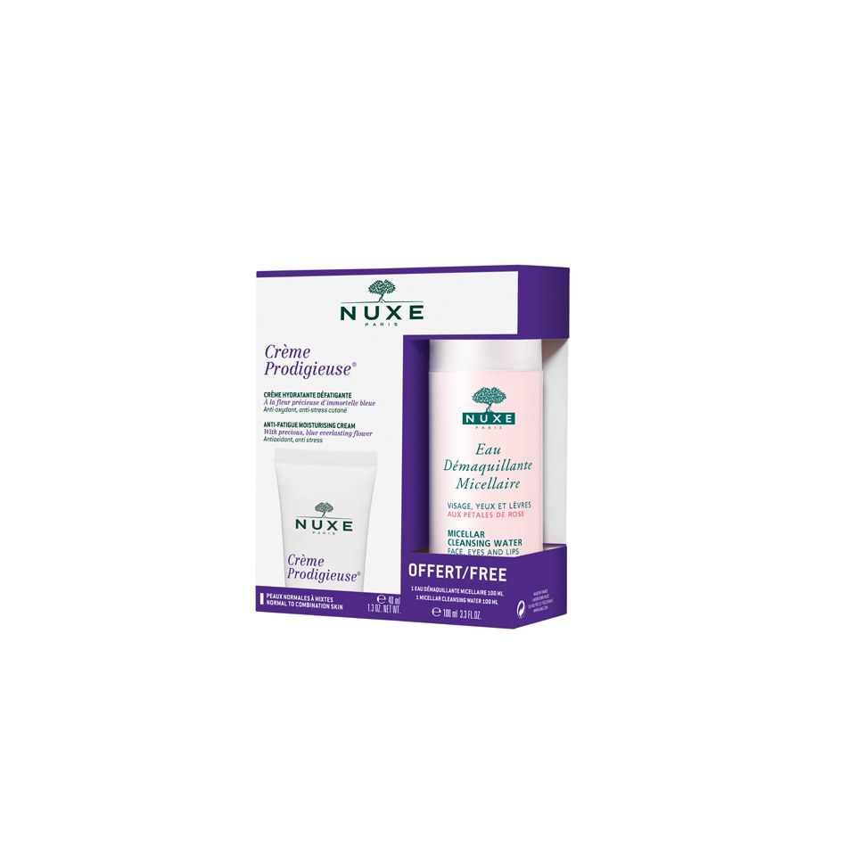 NUXE Crème Prodigieuse Normal Skin Duo Pack With Free Micellar Water (100ml) – 2014