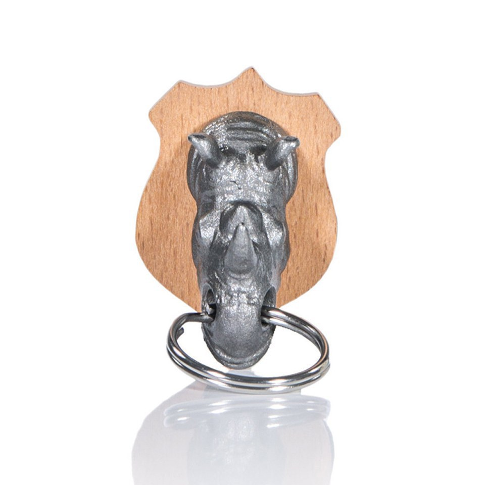 rhino-animal-head-key-holder