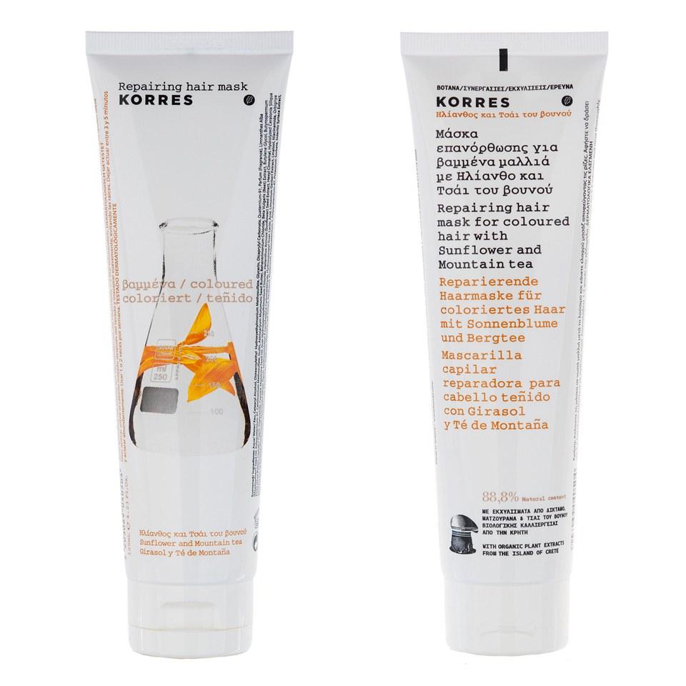 korres-sunflower-mountain-tea-mask-for-coloured-hair-125ml