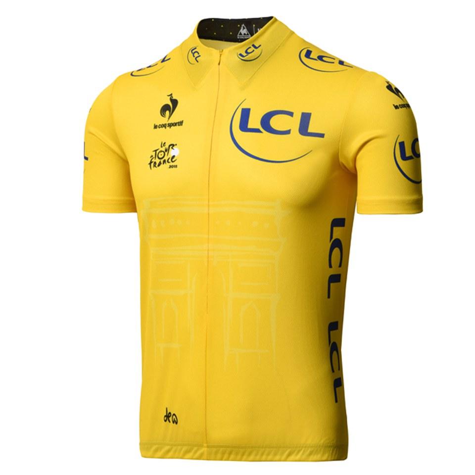 le-coq-sportif-tour-de-france-2015-leaders-official-premium-jersey-yellow-xl