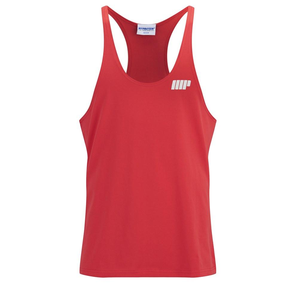 Foto Myprotein Men's Longline Stringer Vest, Red, L