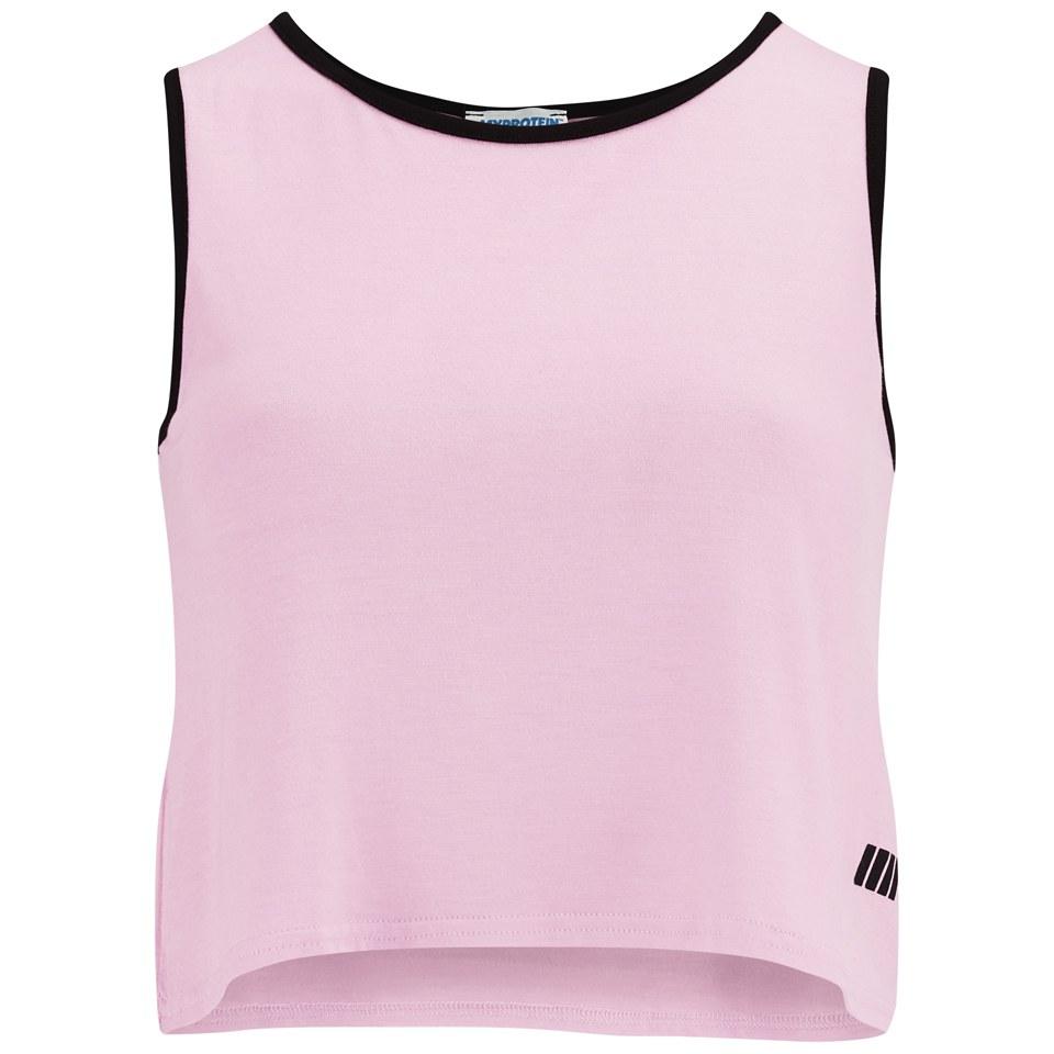 Myprotein Women's Cropped Vest, Pink, 10