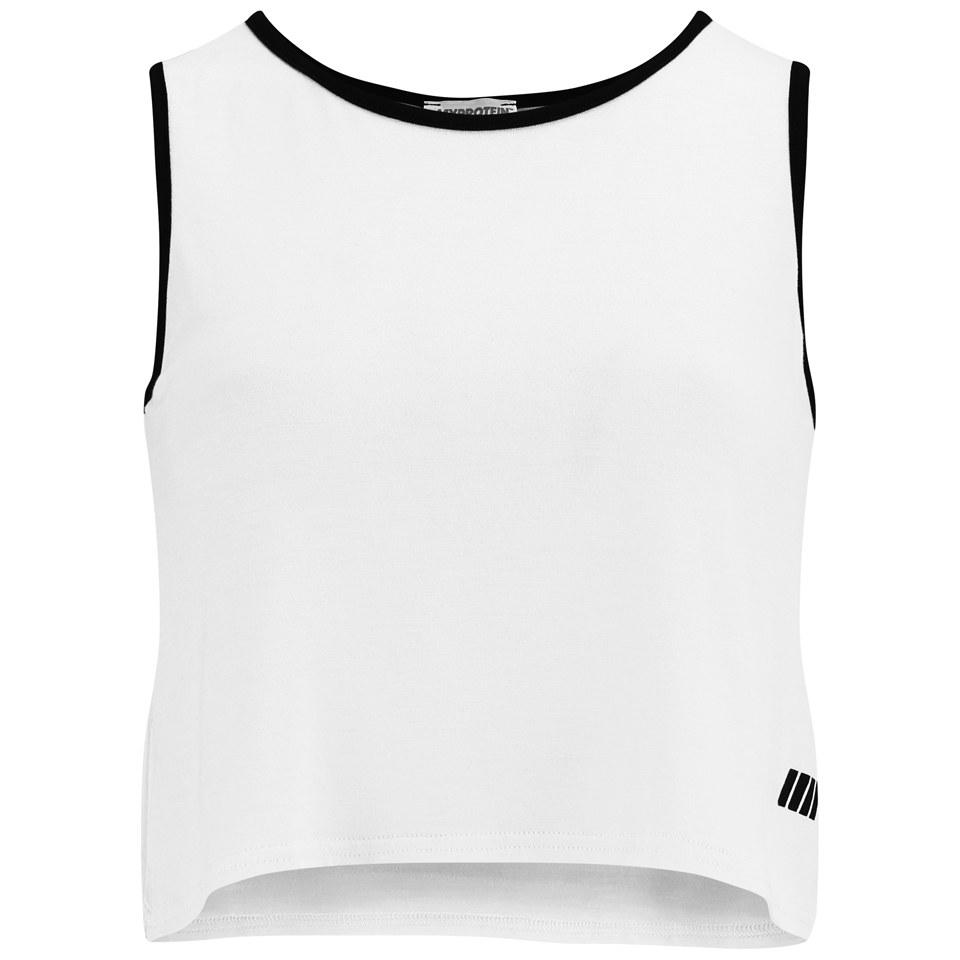 Foto Myprotein Women's Cropped Vest, White, 14