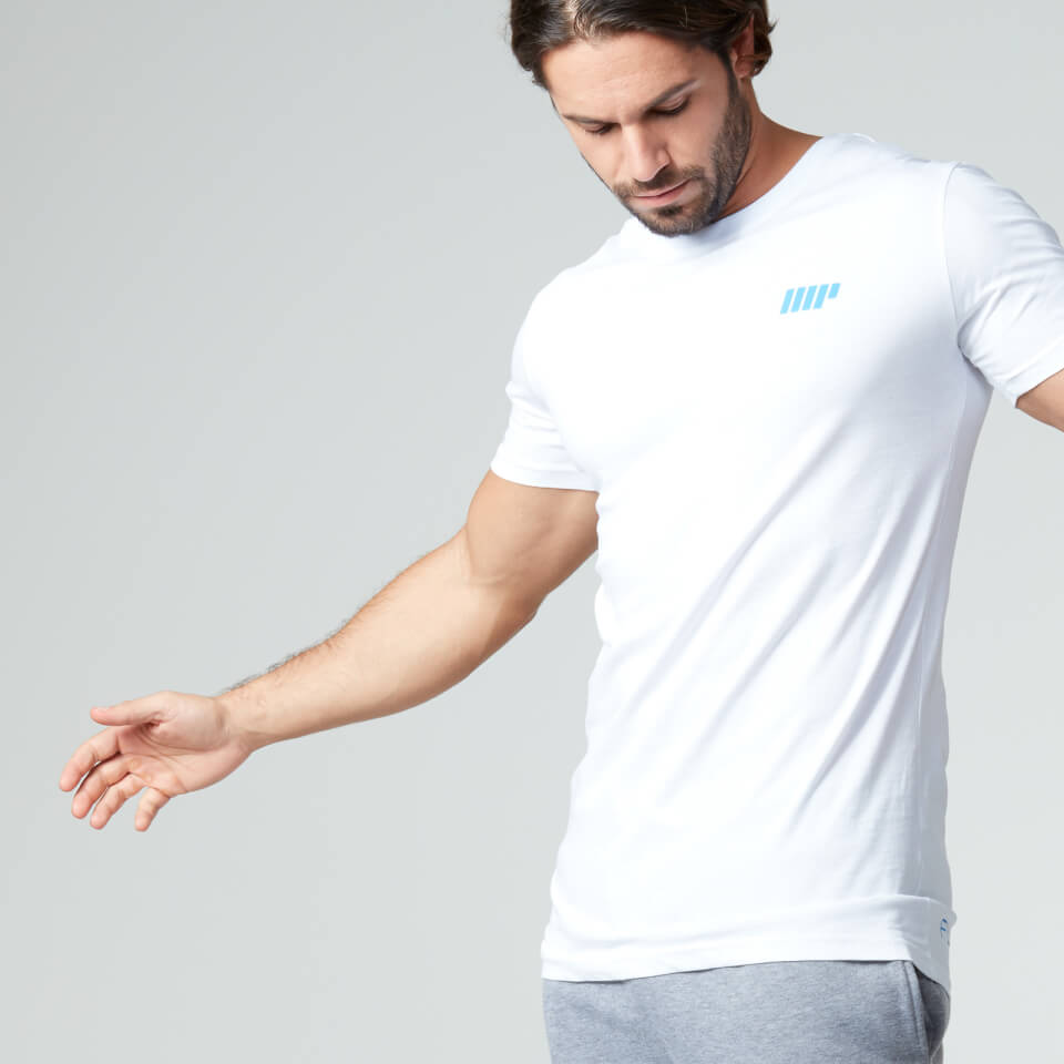 Foto Myprotein Men's Longline Short Sleeve T-Shirt, White, XXL