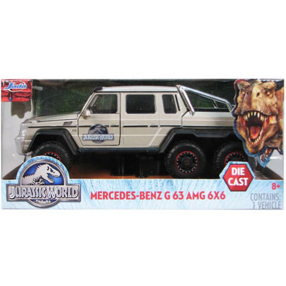 Jurassic World Mercedes G63 Amg 6x6 Diecast 1 24 Scale