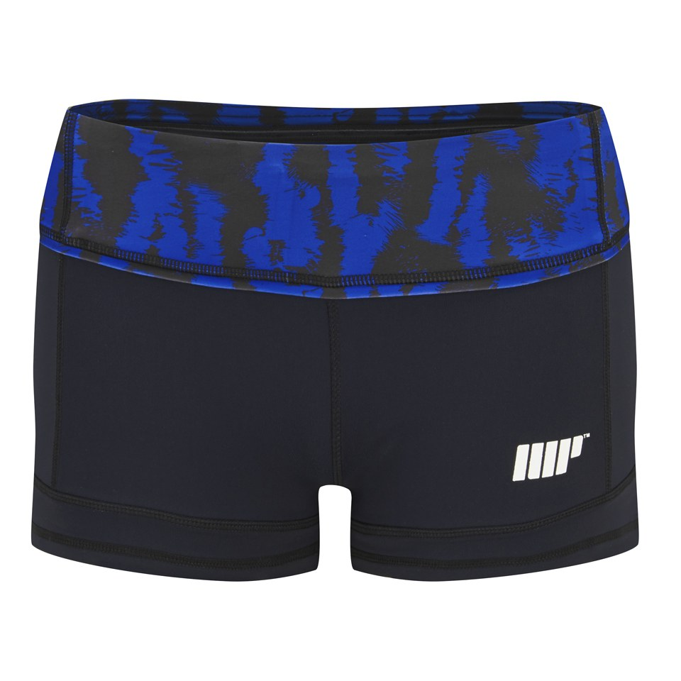 Myprotein Women's FT Athletic Shorts, Blue St