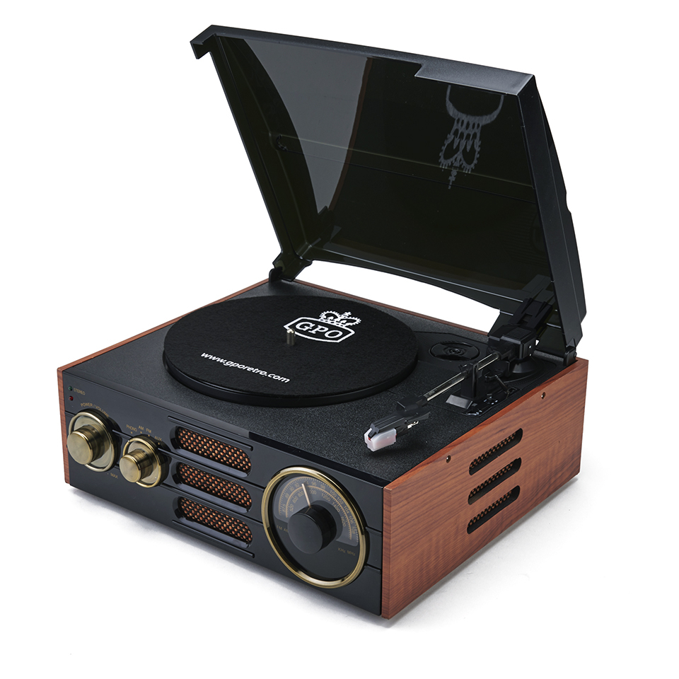 gpo-retro-empire-classic-vintage-style-3-speed-record-player-turntable-with-radio-built-in-speaker-blackbrown