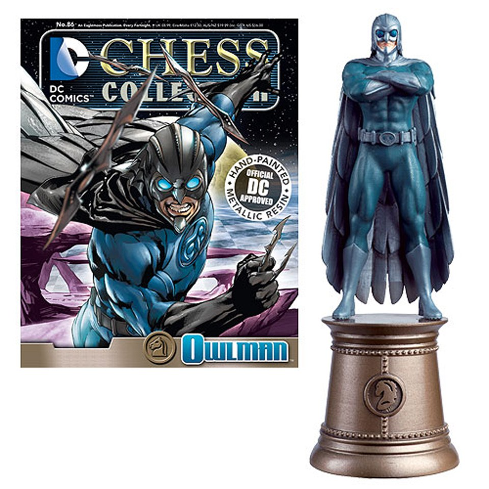 dc-comics-owl-man-black-knight-chess-piece-with-collector-magazine