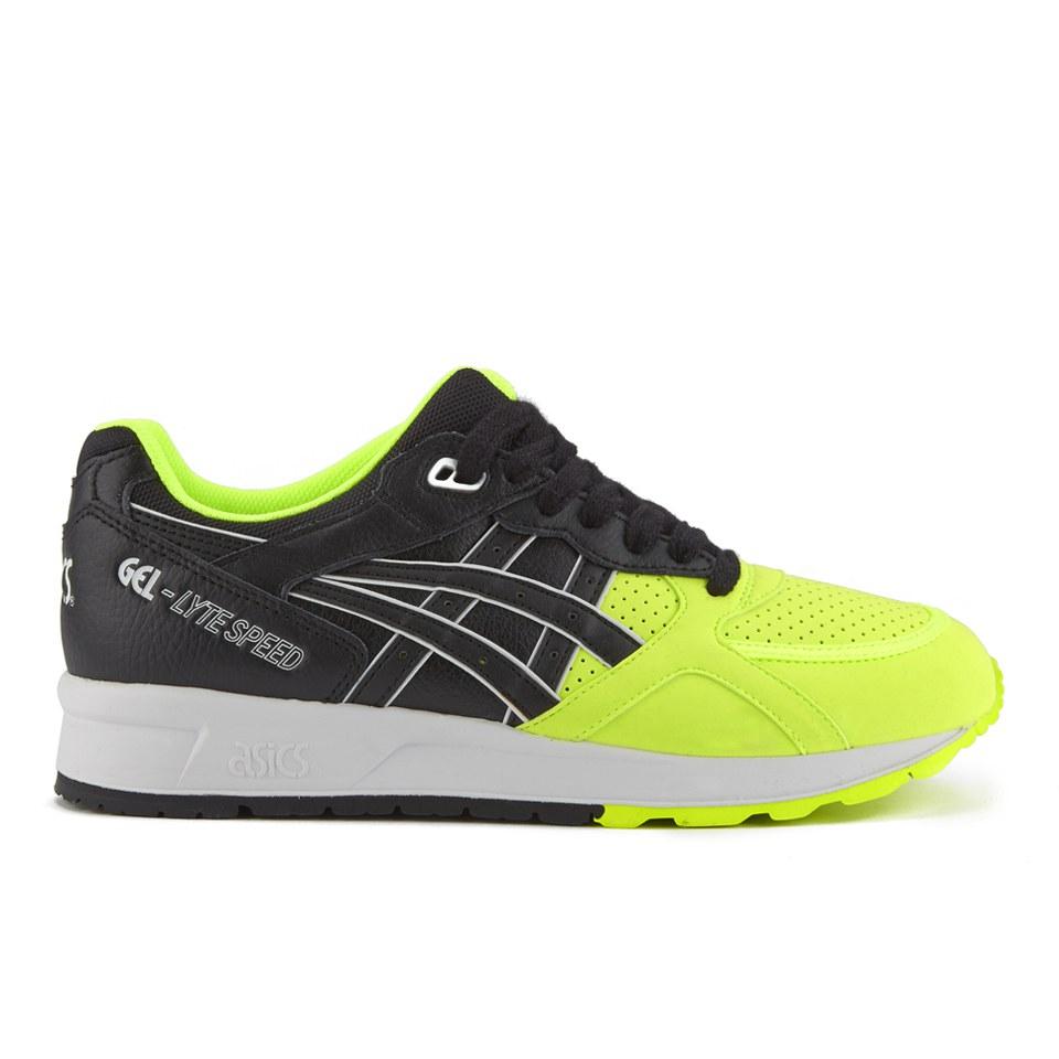 Asics Mens Gel Lyte III 5050 Pack Trainers Safety YellowBlack Mens Footwear TheHutcom