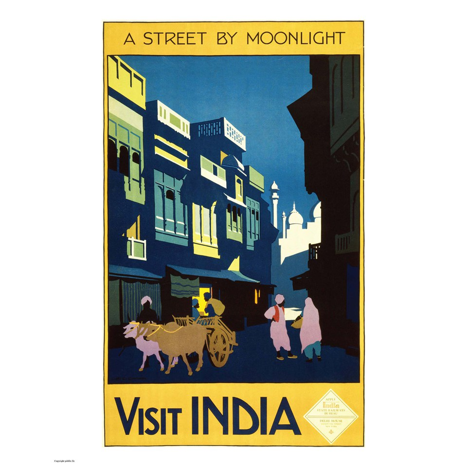 vintage-travel-india-print