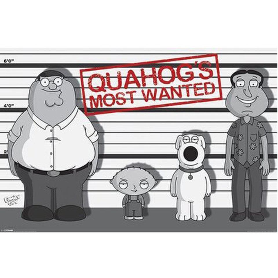 family-guy-line-up-24-x-36-inches-maxi-poster