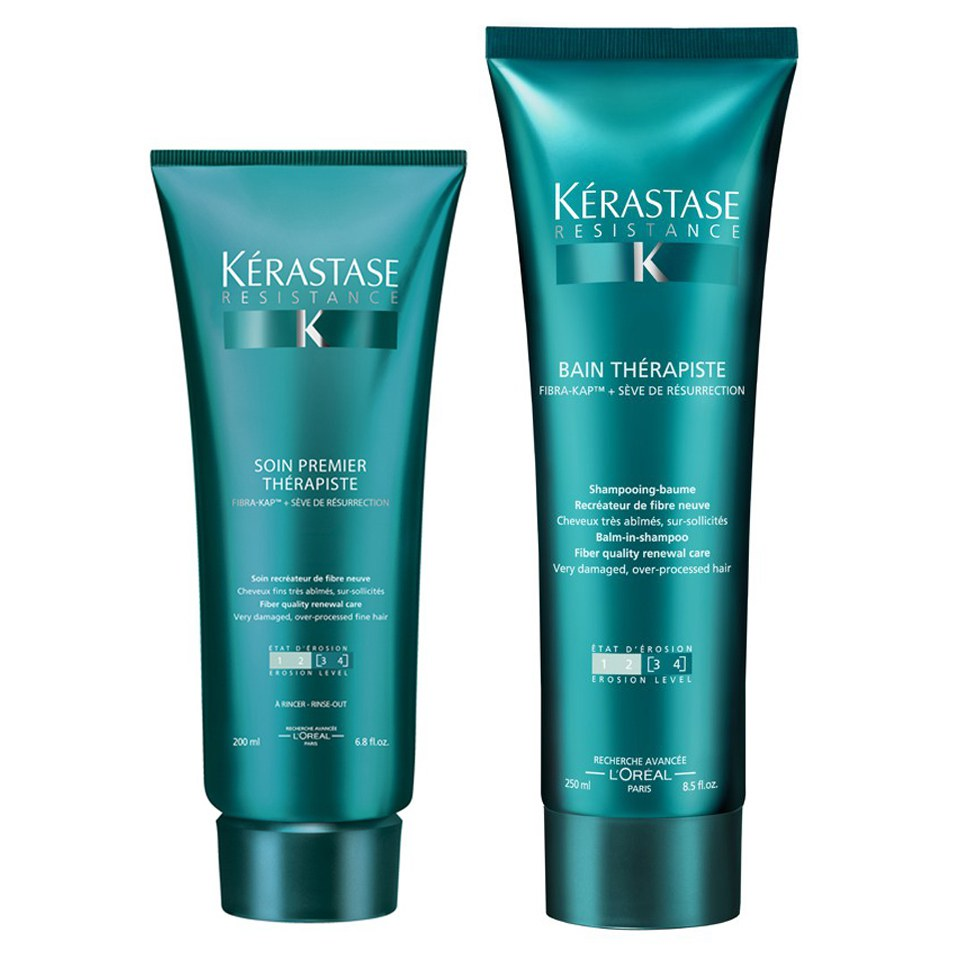 K rastase resistance therapiste bain 250ml and for Kerastase bain miroir conditioner