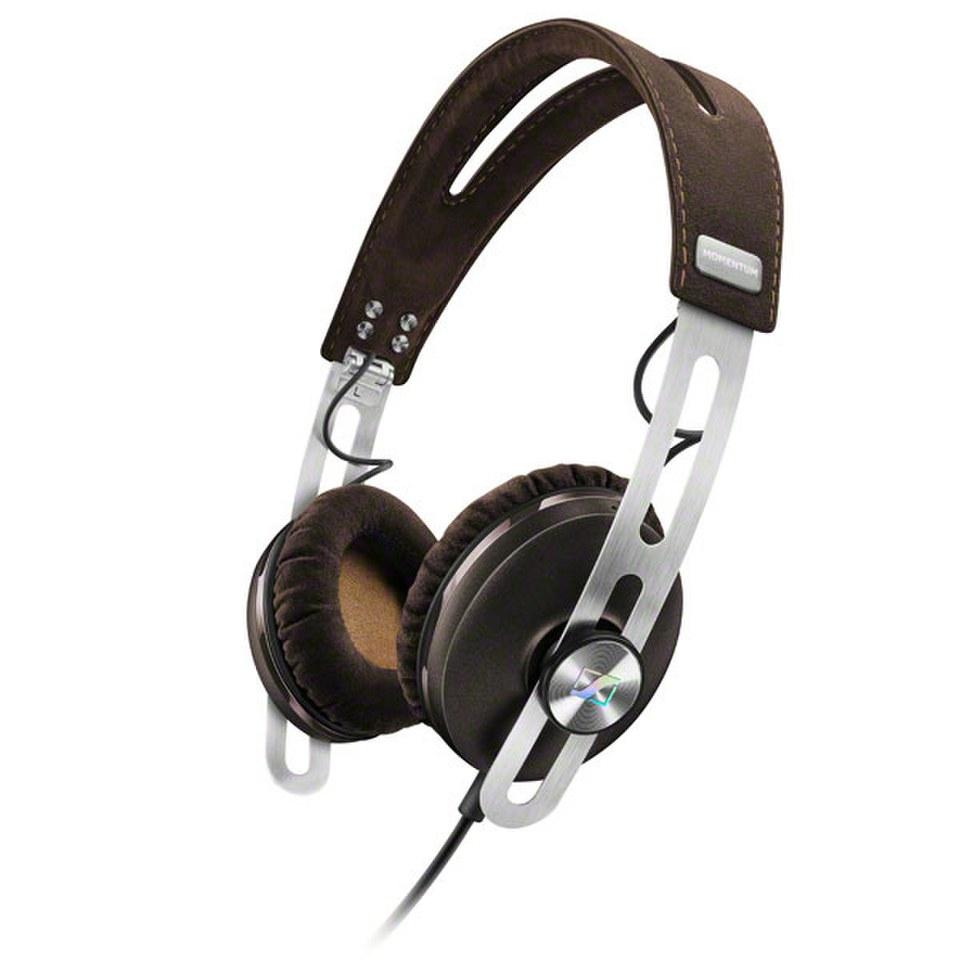 sennheiser-momentum-20-on-ear-headphones-in-line-remote-mic-apple-brown