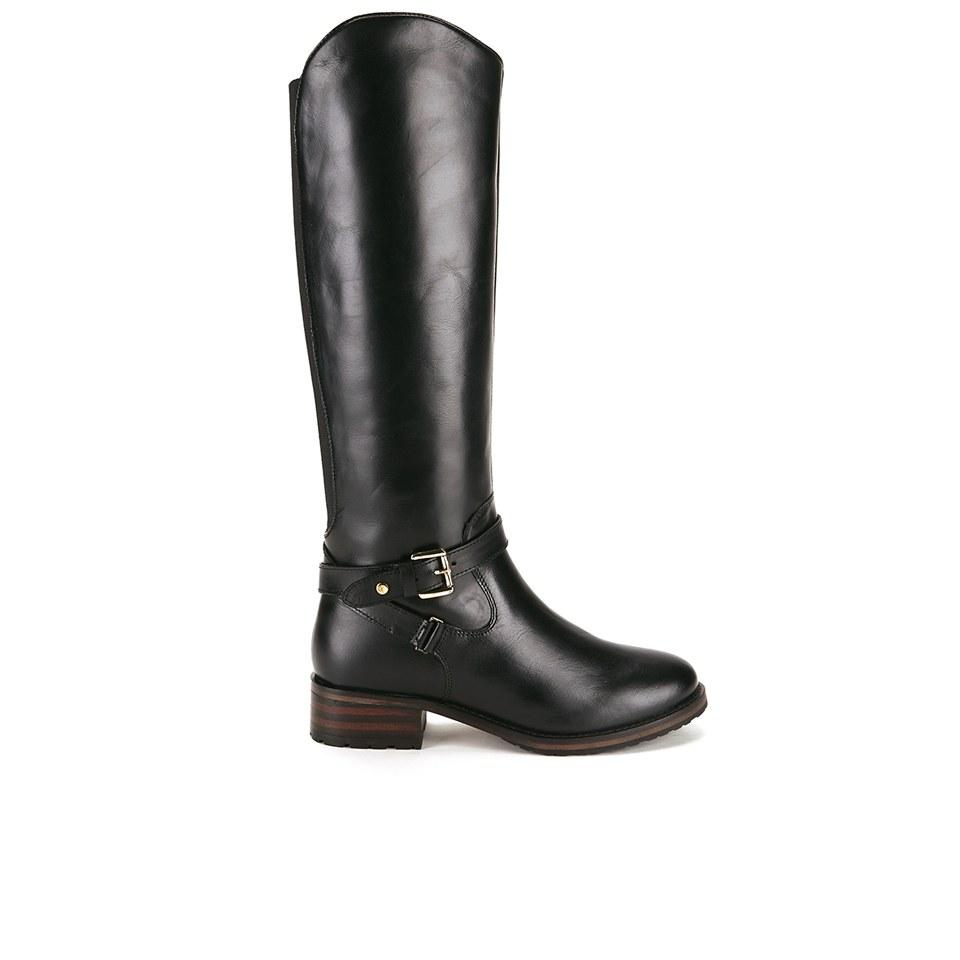 Popular Stetson Boots Women39s Black Crackle Riding Boot