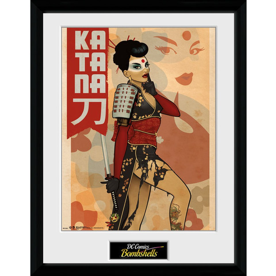 dc-comics-katana-16-x-12-inches-framed-photographic