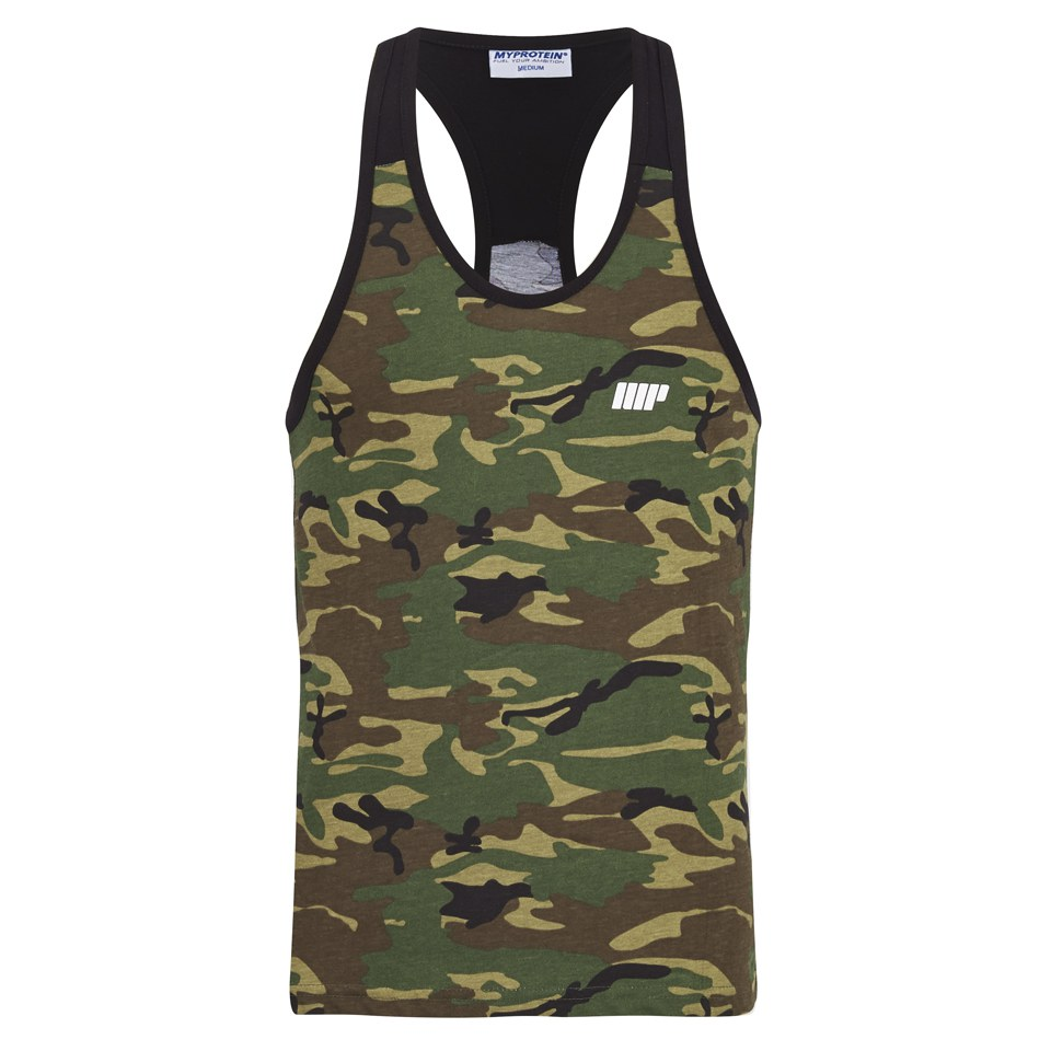Myprotein Men's Camo Tank Top - Black Trim, X