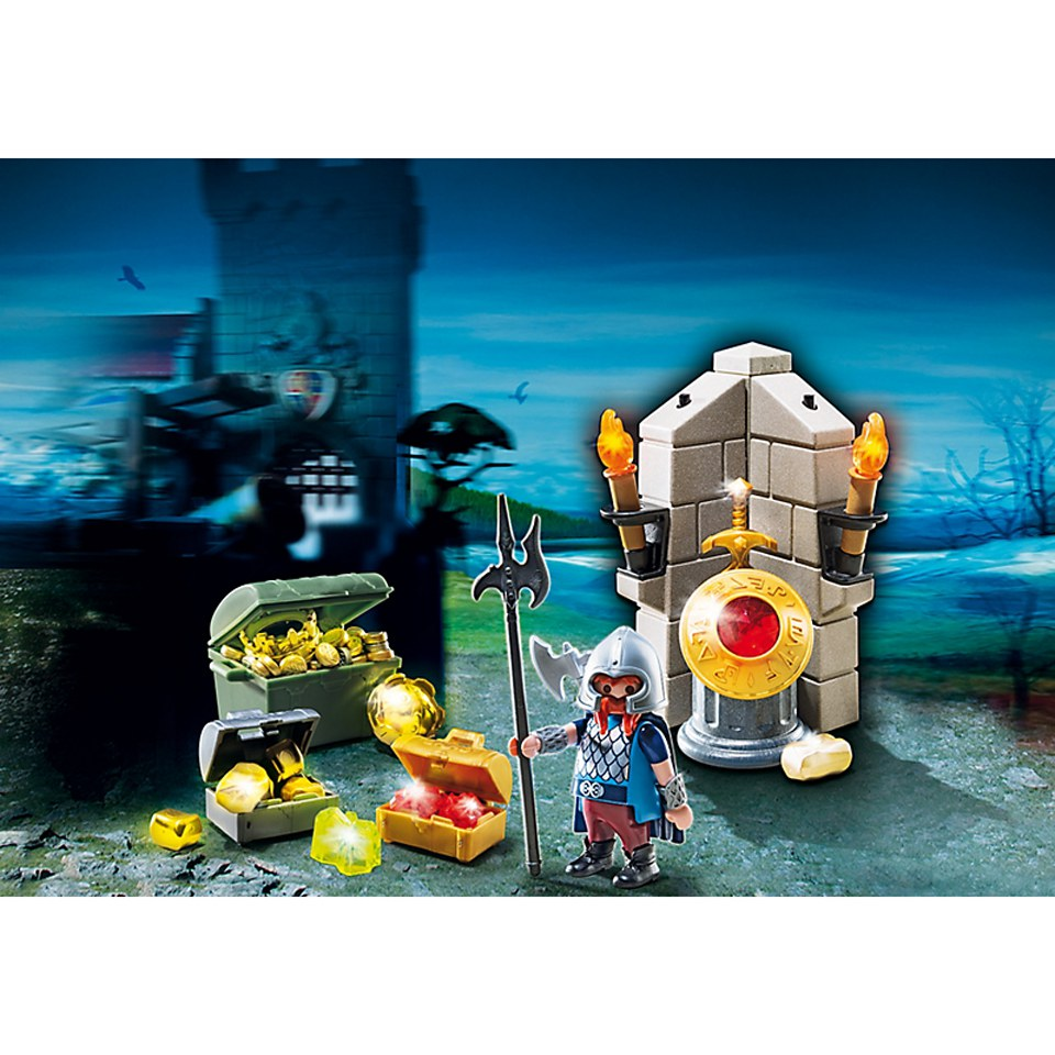 playmobil-king-treasure-guard-6160