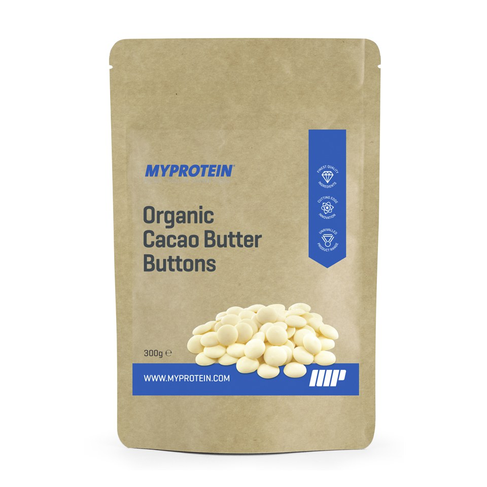 Organic Cacao Butter Buttons (300g)