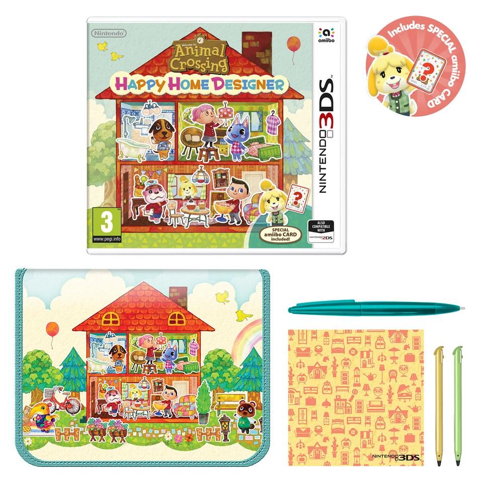 Animal crossing happy home designer nintendo uk store - Animal crossing happy home designer bundle ...