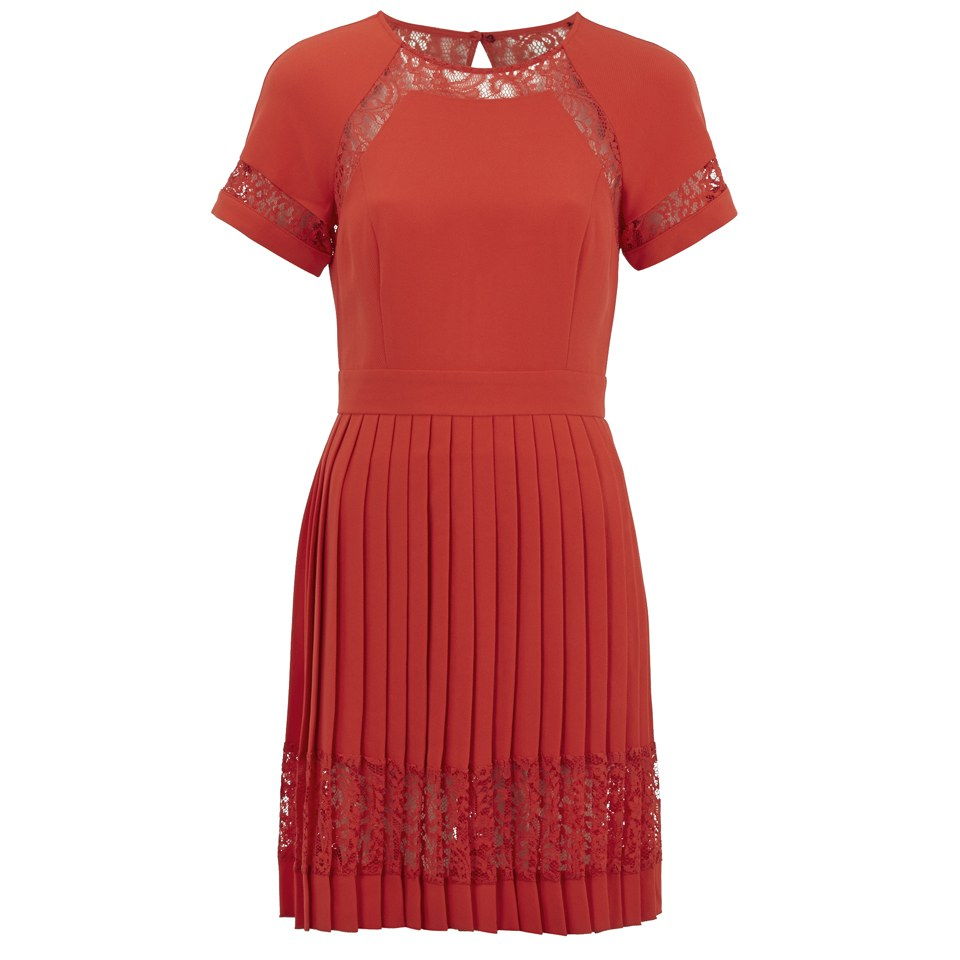 french-connection-women-arrow-lace-flare-dress-riot-red-8
