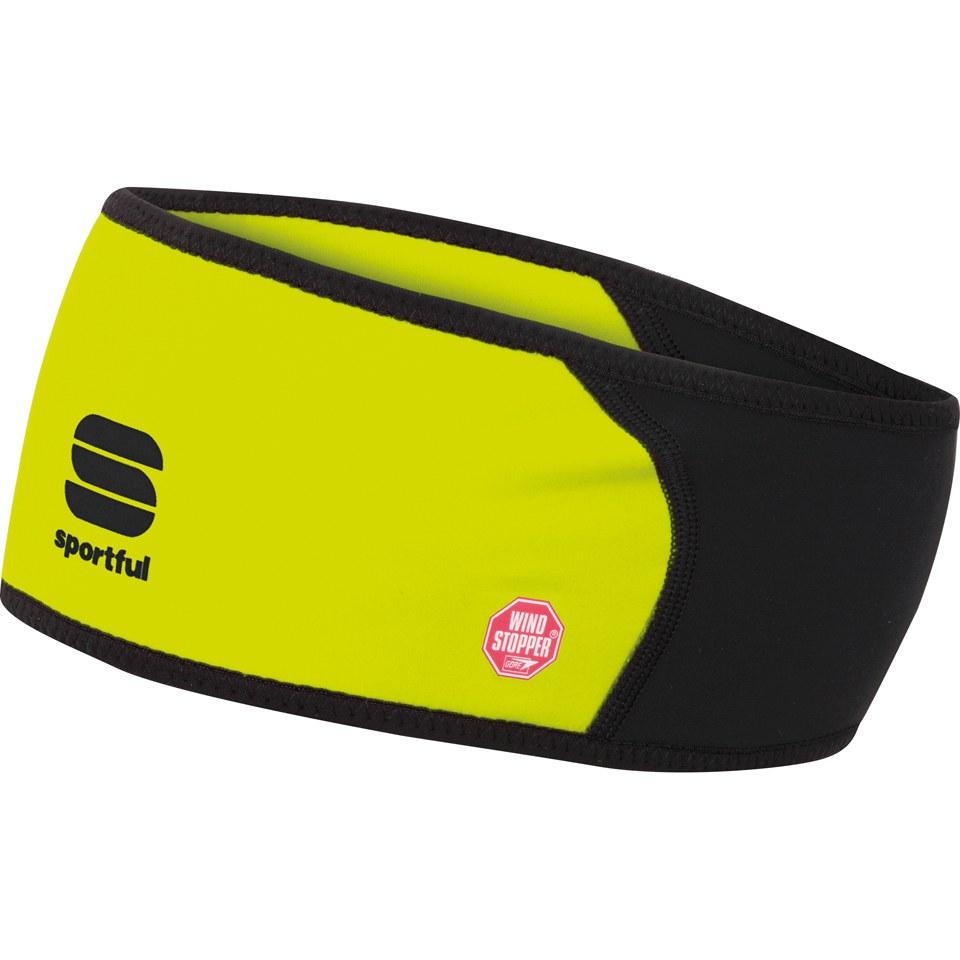 sportful-windstopper-headband-yellow-fluo
