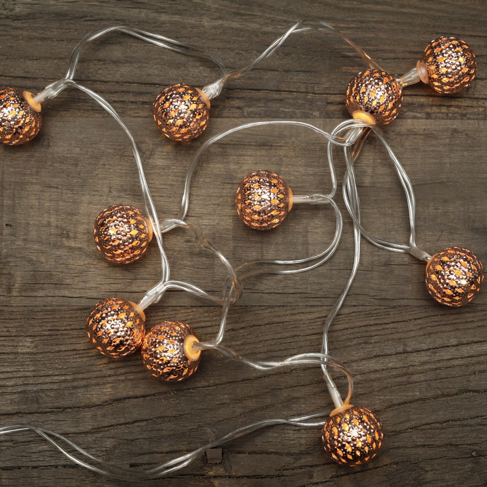Kikkerland Moroccan String Lights : Moroccan String Lights IWOOT