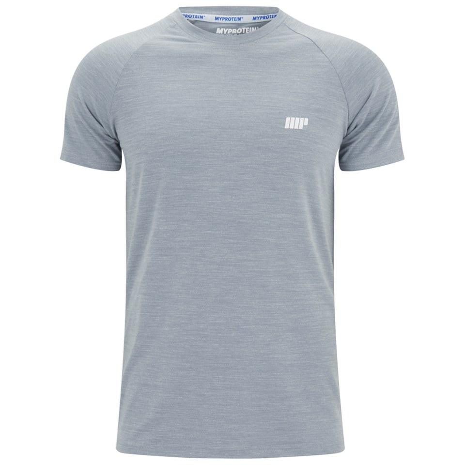 Foto Myprotein Men's Performance Short Sleeve Top - Grey Marl - S