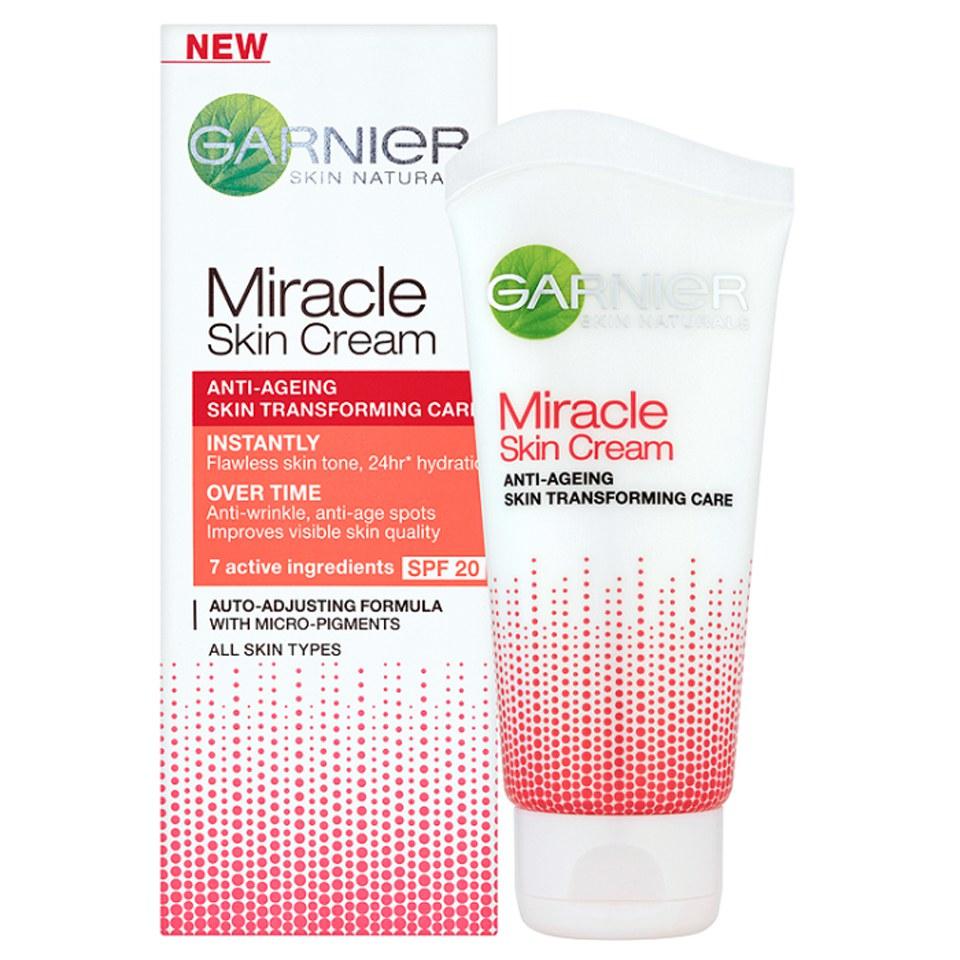 garnier skin naturals miracle skin cream 50ml. Black Bedroom Furniture Sets. Home Design Ideas