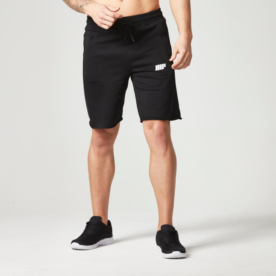 Foto Myprotein Men's Cut Off Shorts with Zip Pockets - Black, L