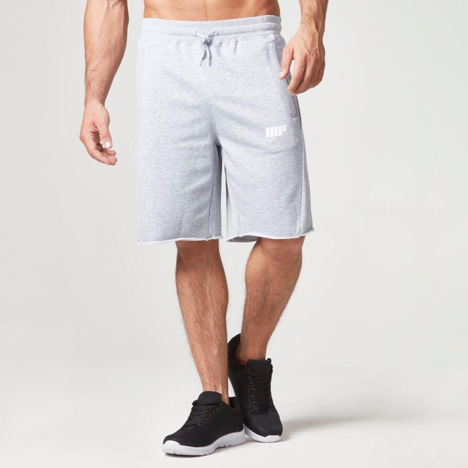 Foto Myprotein Men's Cut Off Shorts with Zip Pockets - Grey Marl, M