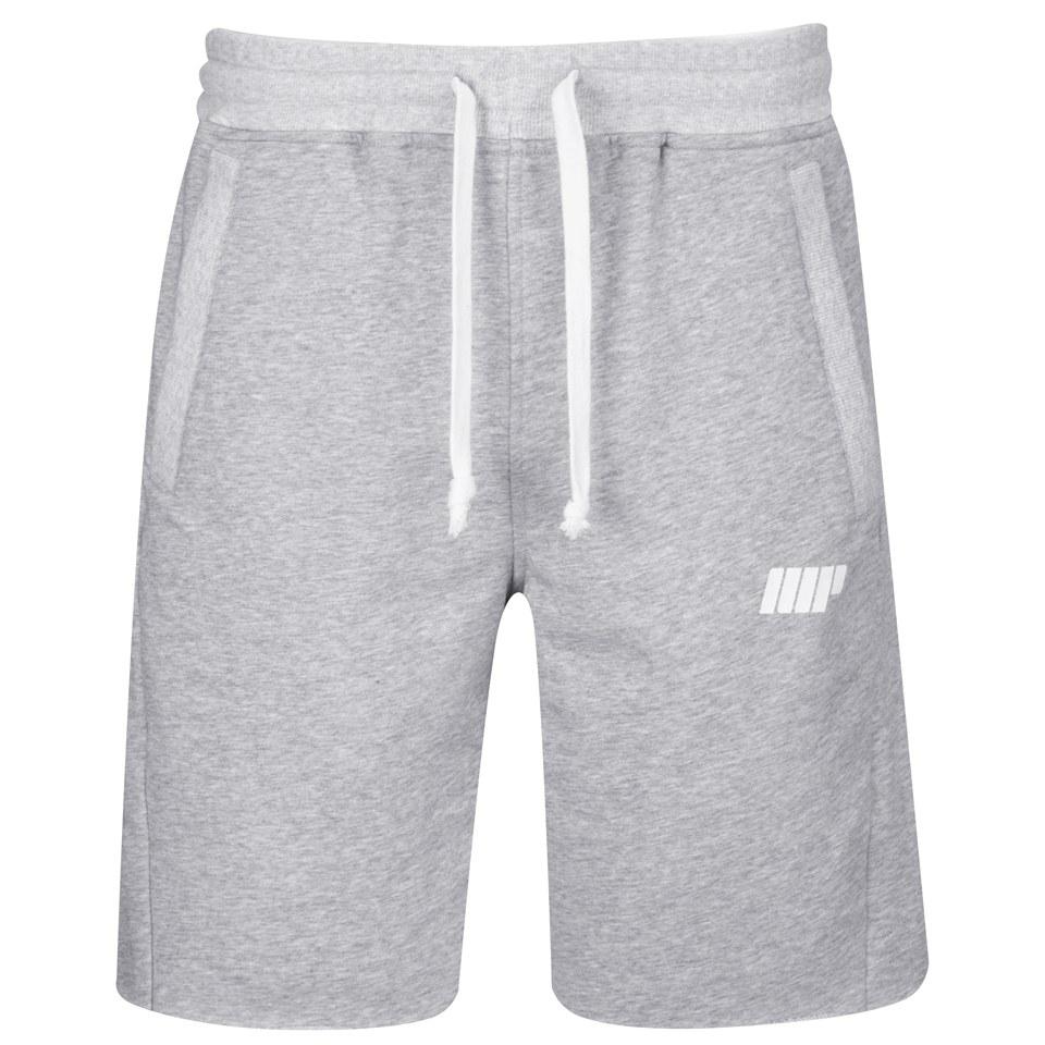 Foto Myprotein Men's Cut Off Shorts with Zip Pockets - Grey Marl, XL