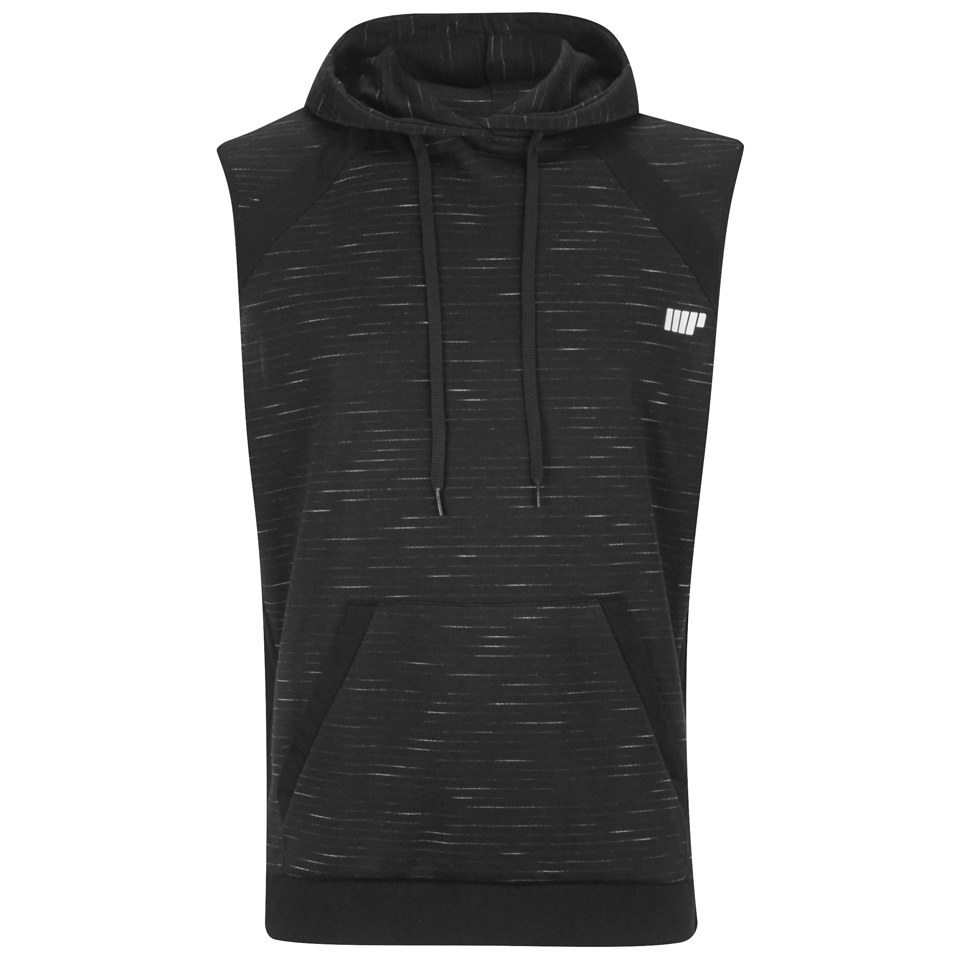 Foto Myprotein Men's Slouch Sleeveless Hoodie - Black, M