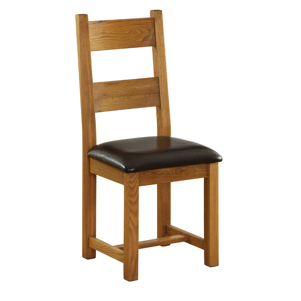vancouver-oak-nb003-dining-chair-with-leather-seat-chocolate