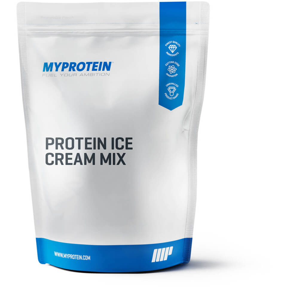 Protein Ice Cream Mix, Banana, 1kg