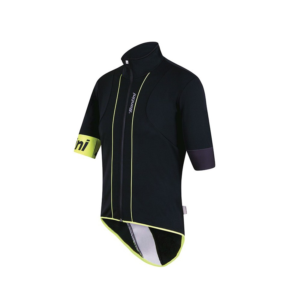 santini-reef-water-wind-resistant-jersey-black-yellow-m