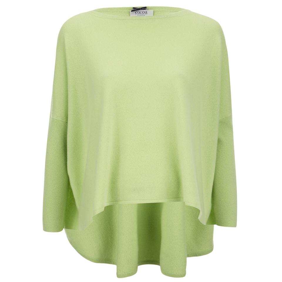 cocoa-cashmere-women-round-neck-longer-back-jumper-lime-m-12